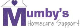 Mumbys Homecare logo