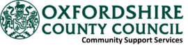 composite logo for Oxfordshire County Council Community Support Services