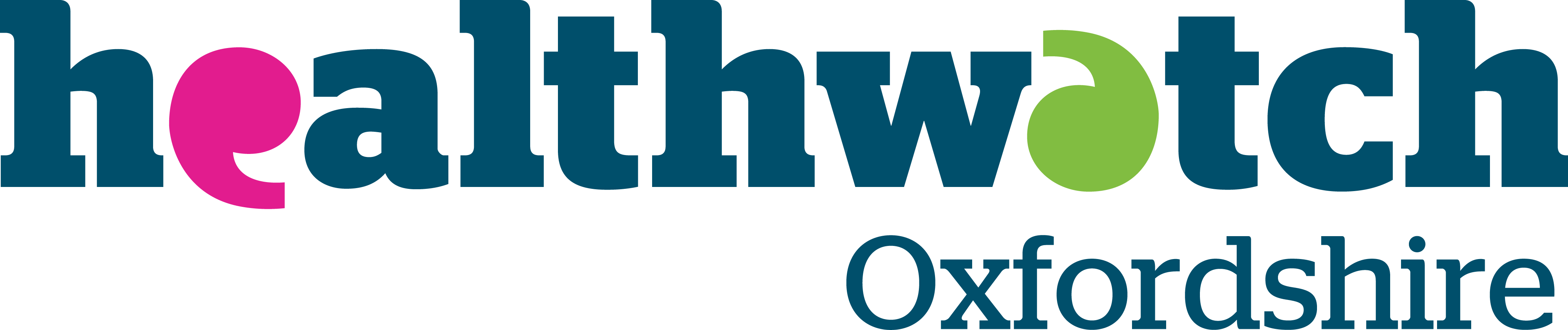 Healthwatch Oxfordshire logo