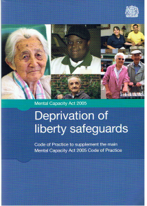 Deprivation of Liberty Safeguards image