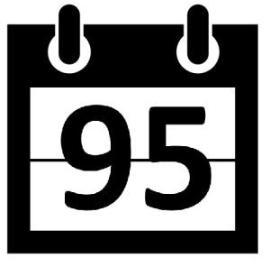95 days