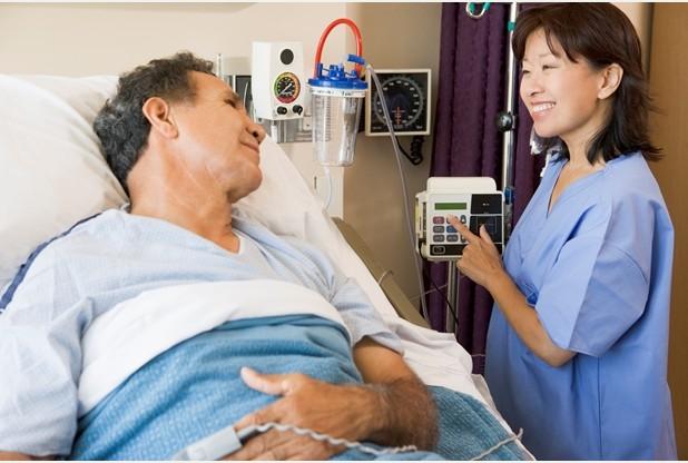 picture of a non-UK nurse