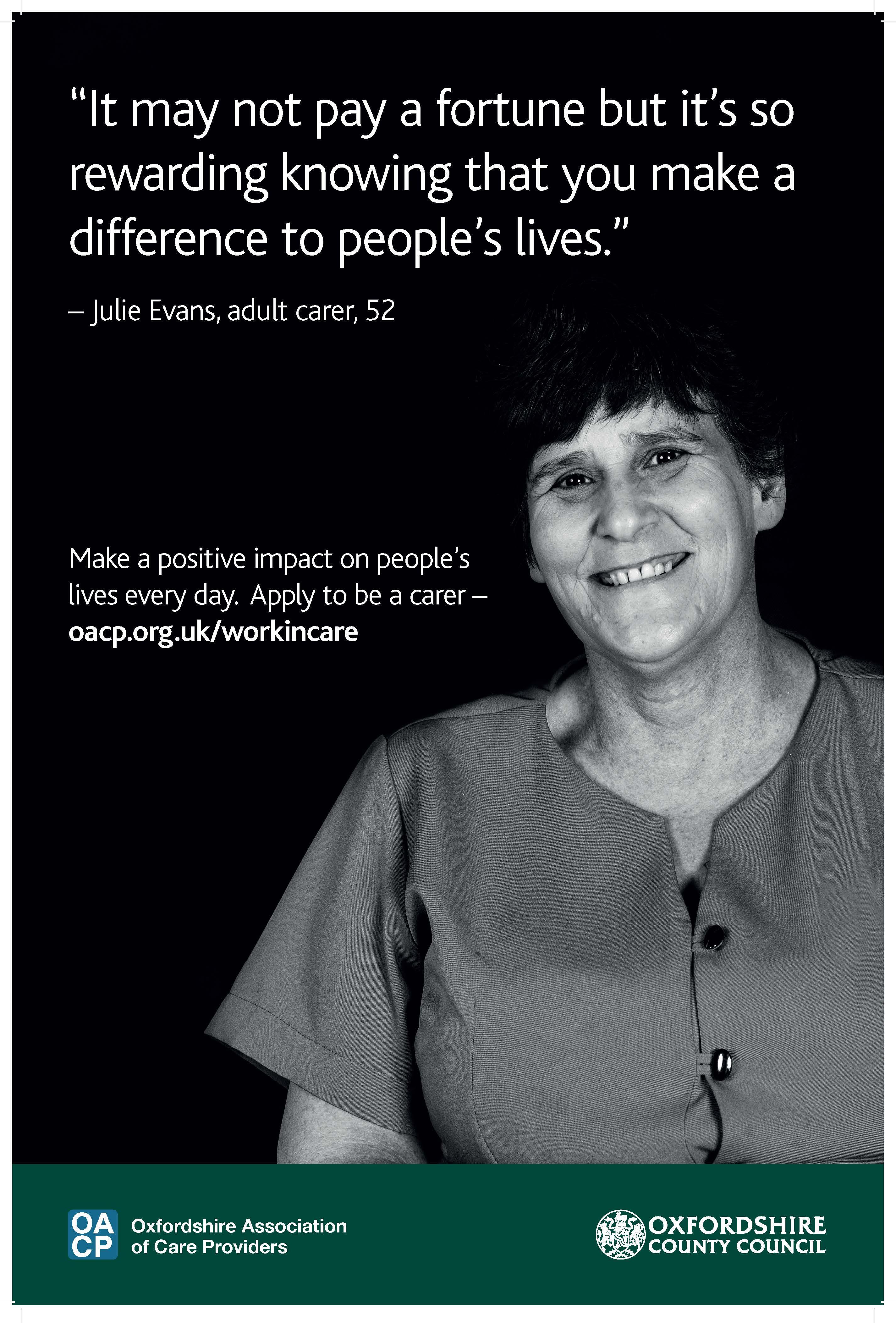 Workforce promotion poster
