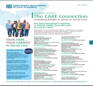 Cover of Care Connection magazine