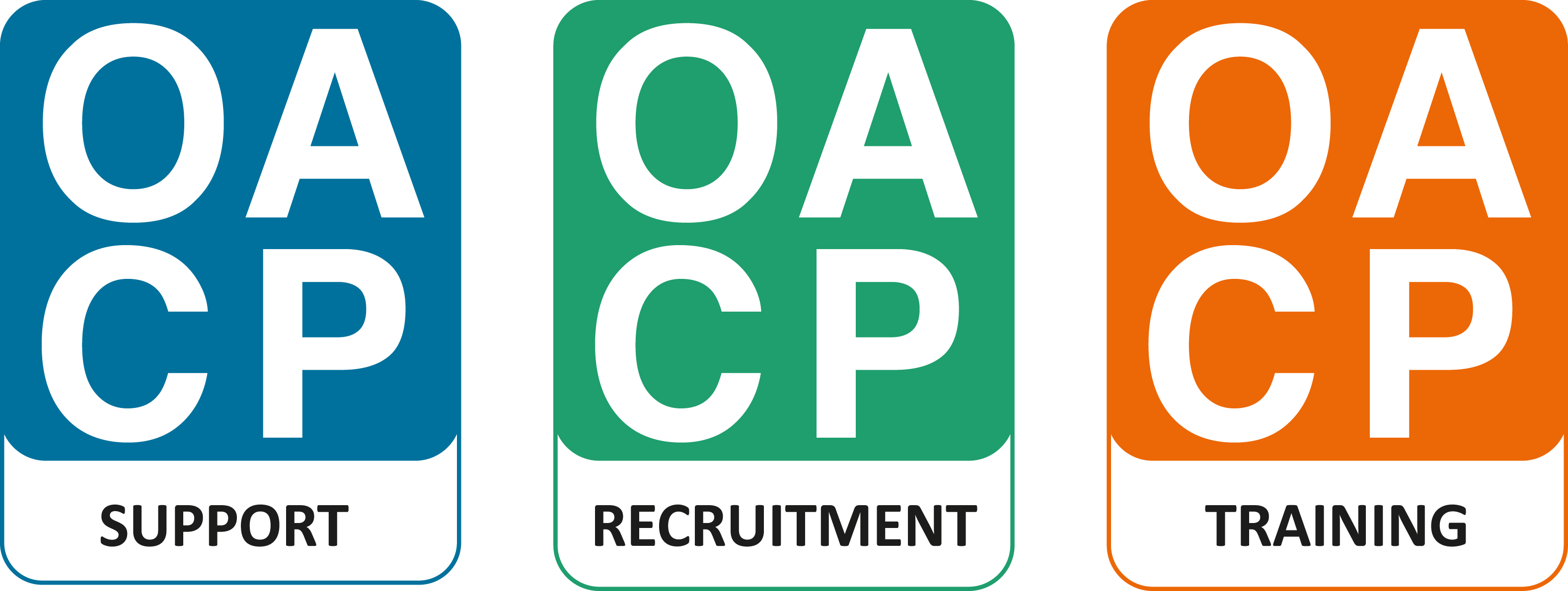 Oxfordshire Association of Care Providers triple logo
