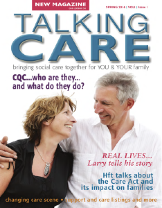 Talking Care Issue 1 cover