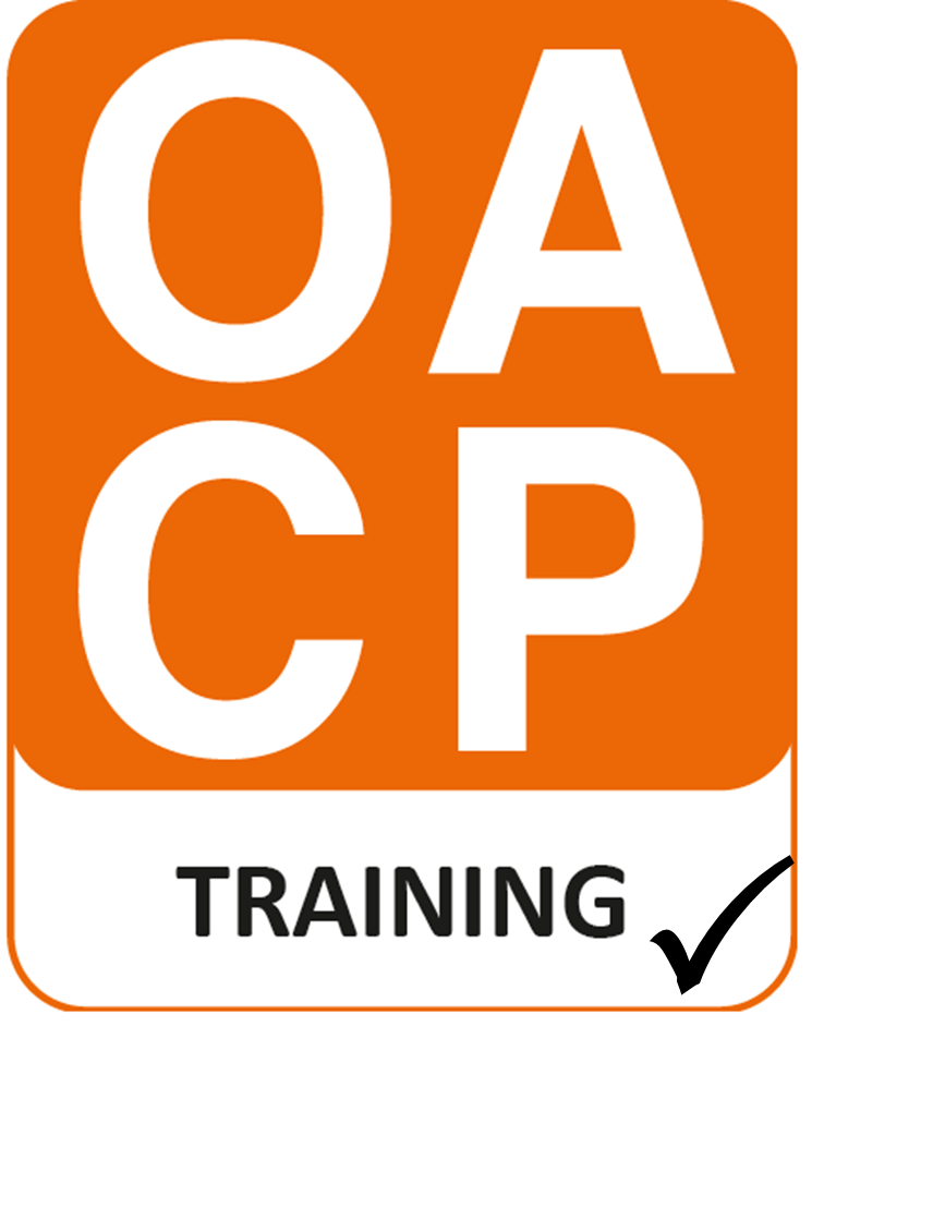 OACP Training logo with tick