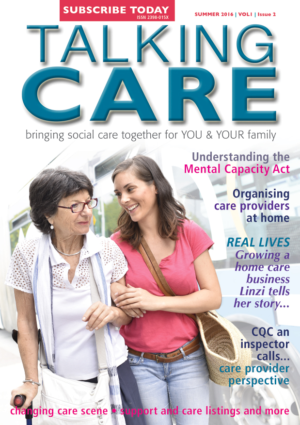 Talking Care Issue 2 cover