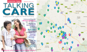 Map of Talking Care outlets