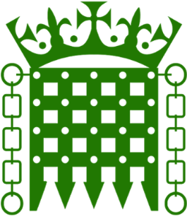House of Commons green portcullis logo