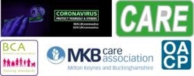 Joint BCA MKB Care and OACP covid logo
